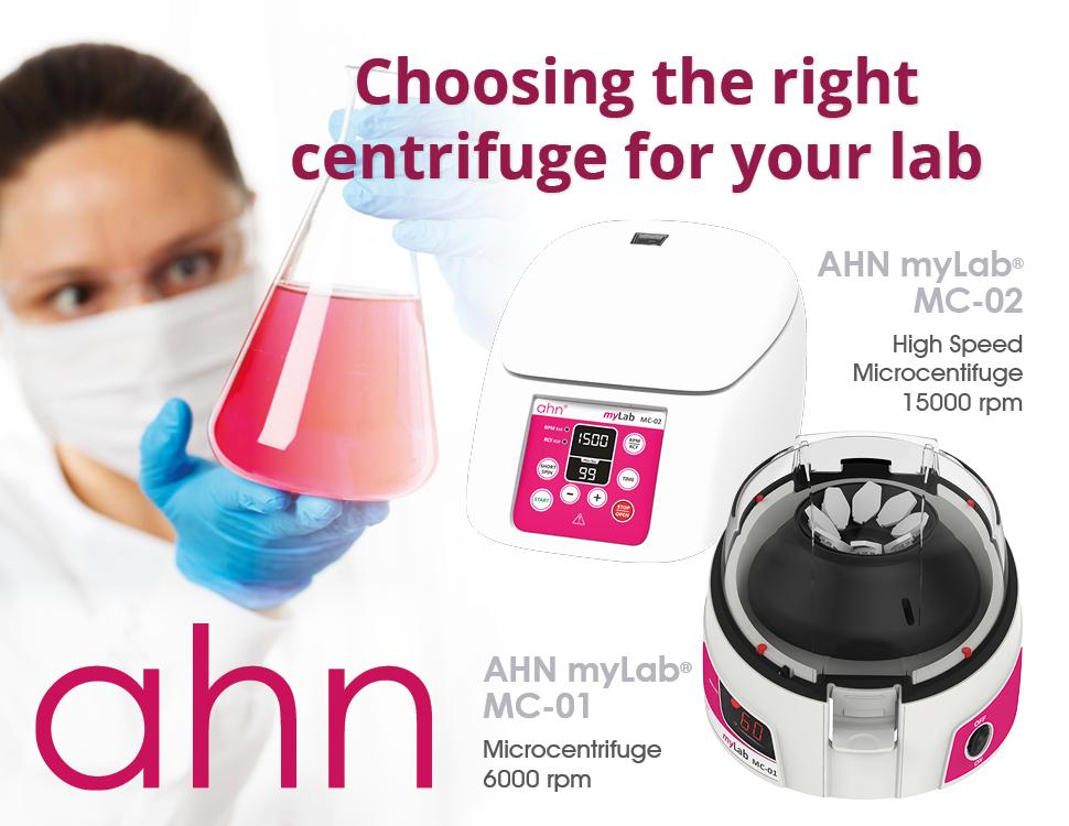 microcentrifuge AHN mylab microcentrifuge