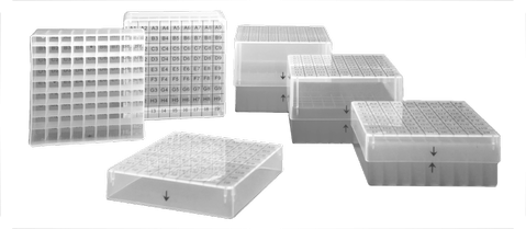 cryogenic box, cryovial storage boxes