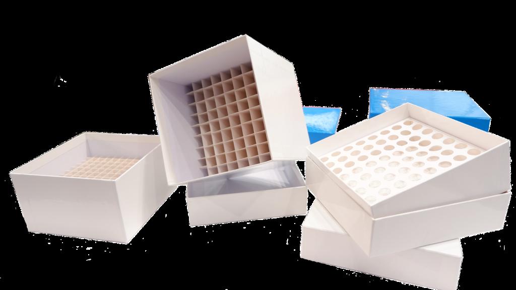 cryoboxes, cardboard cryoboxes