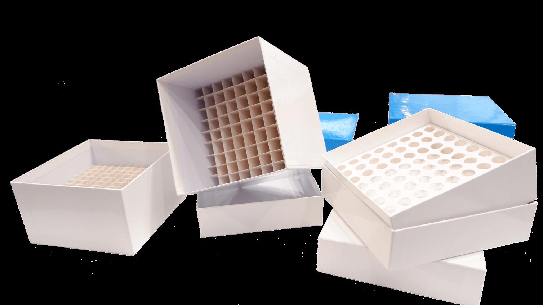 Kryoboxen, Karton Kryoboxen, Kryoboxen aus Karton, Kryoboxen Karton