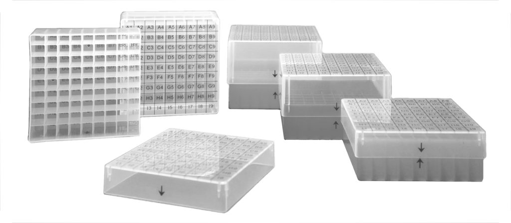 Kunststoff Kryoboxen, Kryoboxen aus Kunststoff